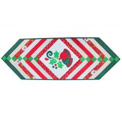 Дорожка лоскутная декоративная «Новогодняя»