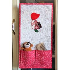 Панно лоскутное декоративное с кармашками «Крошка Сью»