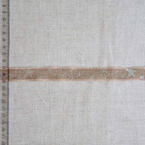 Тесьма джутовая декоративная, 20мм, TDD-001