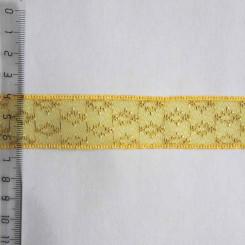 Тесьма декоративная полиэстер, 25мм, TD-007