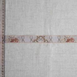Тесьма декоративная полиэстер, 25мм, TD-015