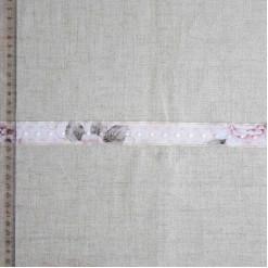 Тесьма декоративная полиэстер, 25мм, TD-017