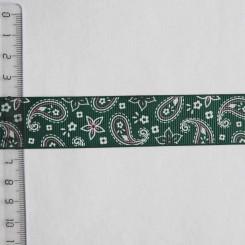 Тесьма репсовая декоративная, 25мм, TDR-016