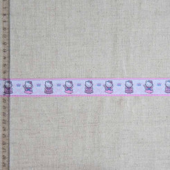 Тесьма репсовая декоративная, 25мм, TDR-019