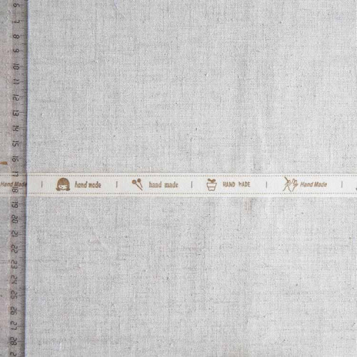Тесьма хлопковая декоративная, 15мм, TDH-006