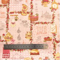 Ткань хлопок, США, IN-00186