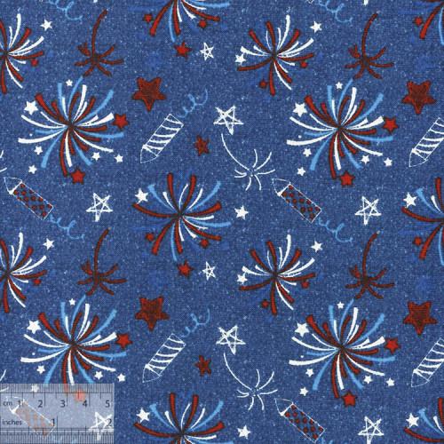Ткань американская для пэчворка, IN-01061