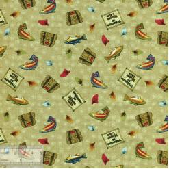 Ткань американская для пэчворка, 50х55см, IN-01205