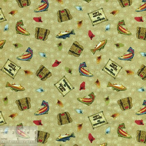 Ткань американская для пэчворка, IN-01205