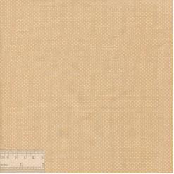 Ткань хлопок «Мелкие точечки на бежевом», JL-00021, 75х50см