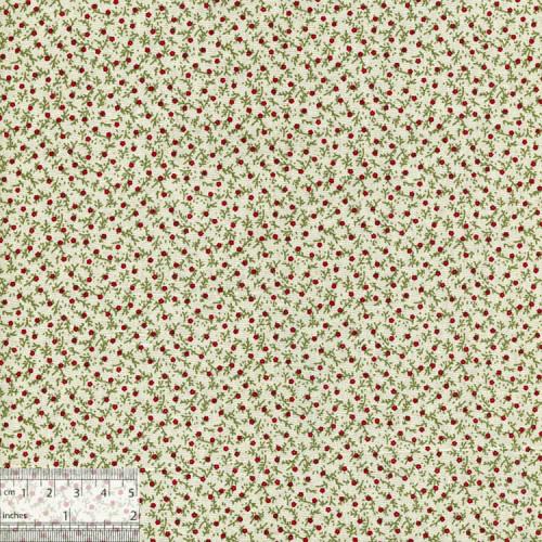 Ткань хлопок «Клюква», JL-00025