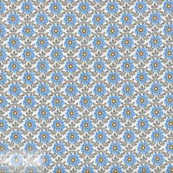 Ткань хлопок «Полли голубой», 75х50см, JL-00109