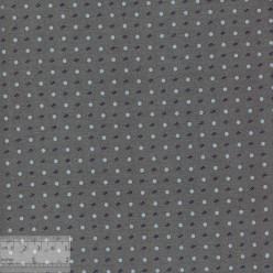 Ткань хлопок «Горошек на сером», 75х50см, JL-00110