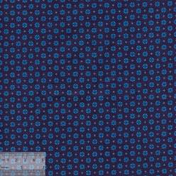 Ткань хлопок «Рамон синий», 75х50см, JL-00111