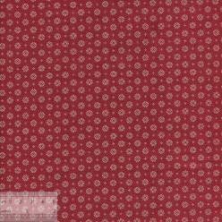 Ткань хлопок «Рамон красный», 75х50см, JL-00112