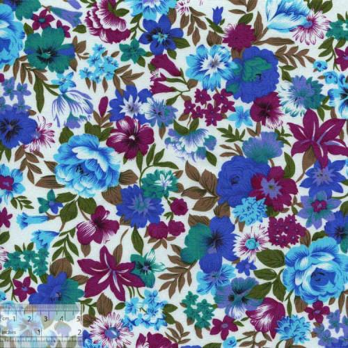 Ткань хлопок «Зимний сад», ZT-00085