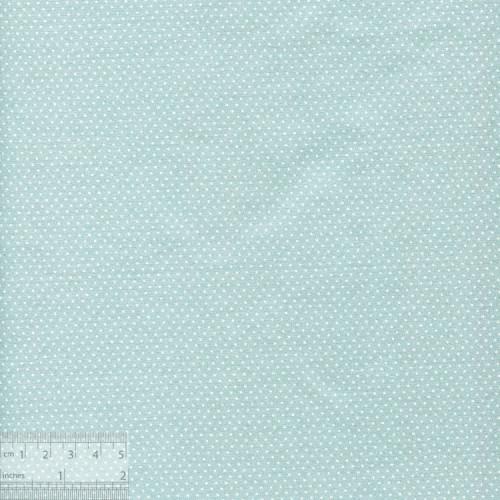 Ткань хлопок «Мелкие точечки на серо-голубом», ZT-00092, 75х50см