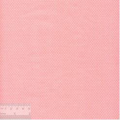 Ткань хлопок «Мелкие точечки на розовом», ZT-00094, 75х50см