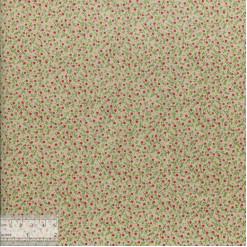 Ткань хлопок «Клюква», ZT-00106, 75х50см