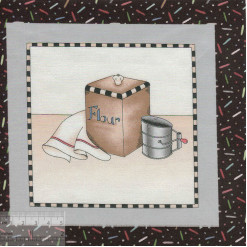 Купон для пэчворка, хлопок 100%, 18x18см, IN-01363