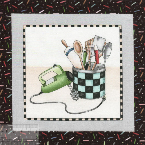 Купон для пэчворка, хлопок 100%, 18x18см, IN-01370