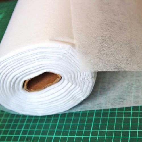 Флизелин клеевой бумажный, 35 г/м², 100х100см