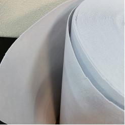 Фетр синтетический, жесткий, белый, толщина 2 мм, 100х50см